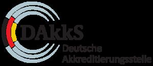 Das Logo der Deutschen Akkreditierungsstelle